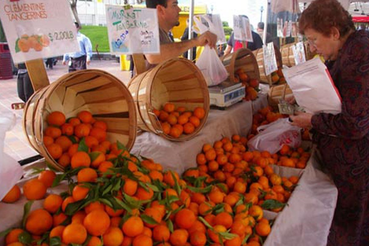 """The 7+Fig market opened yesterday.  Image via <a href=""""http://blogdowntown.com/2009/03/4169-7fig-farmers-market-opens"""">Blogdowntown</a>"""