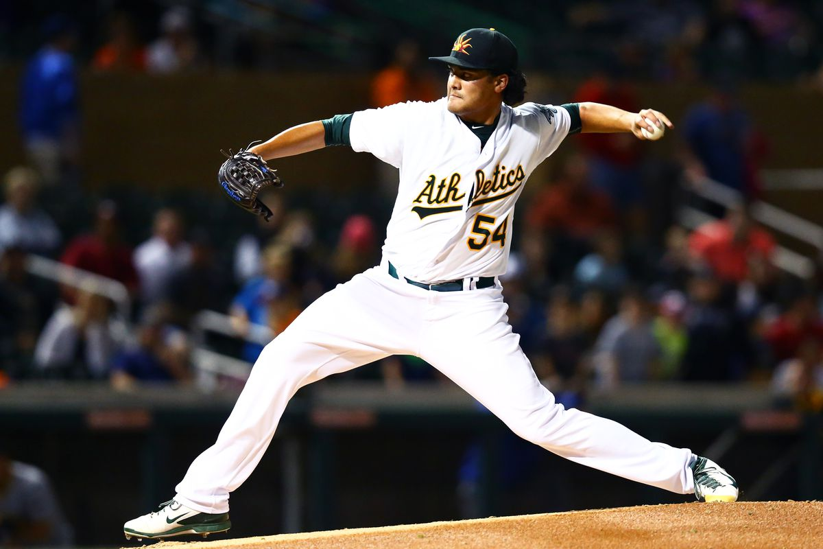 WE HAVE NEW PICTURES OF SEAN MANAEA!! AND HE'S WEARING AN A'S JERSEY NOW!!