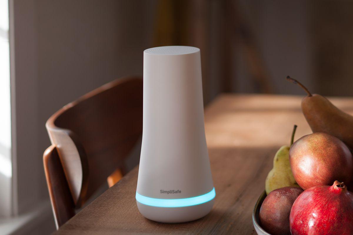 SimpliSafe home security device