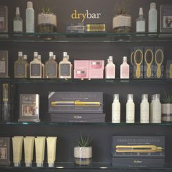 As if finishing lunch with a chocolate mousse wasn't decadent enough, after the meeting I treated myself to a stop into <b>drybar</b>, across the street, and then a manicure a couple blocks north. As a Jewish-Iranian girl, I really wish I was the person w