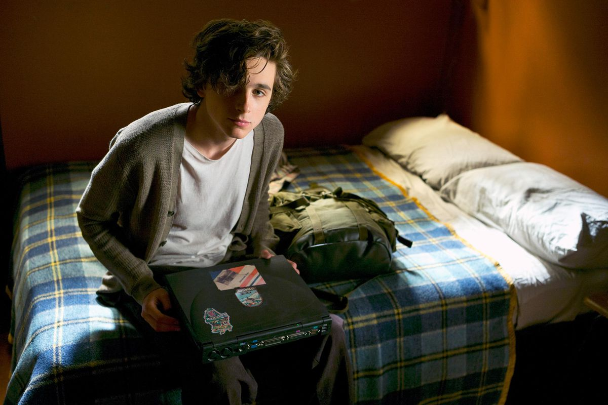 Timothée Chalamet stars in Beautiful Boy as a teenager struggling with a meth addiction.