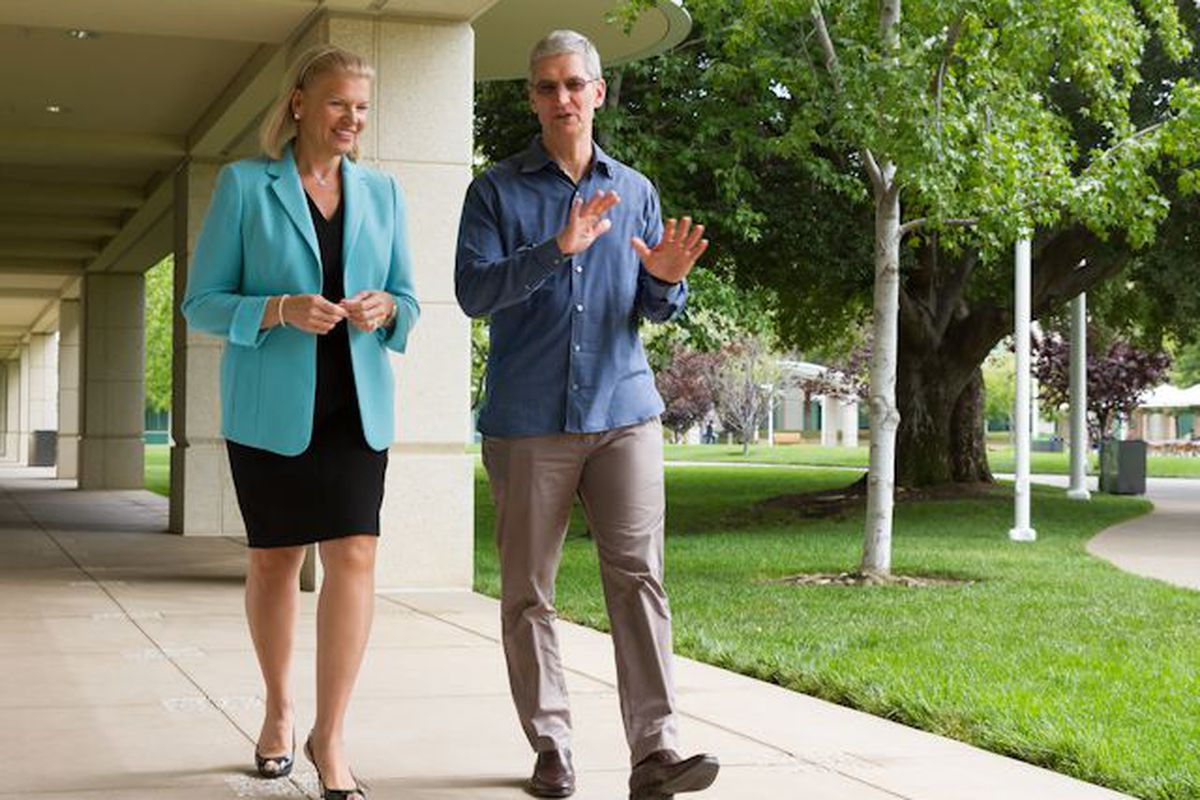 Apple and IBM Team Up to Push iOS in the Enterprise
