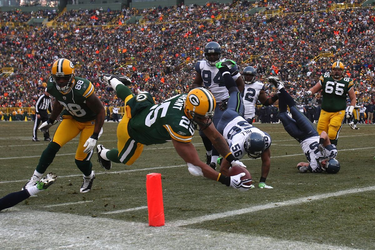 It's been a long time since the Seahawks played at Lambeau Field - six years, to be exact.
