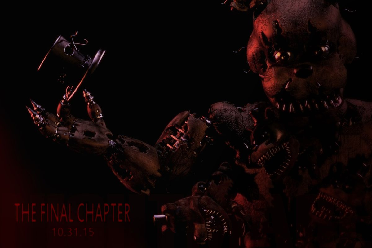 Less than one year after the release of the first game in the series,  developer Scott Cawthon has announced Five Nights at Freddy's 4: The Final  Chapter, ...