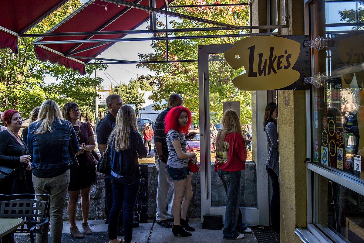 The Luke's Diner takeover at JavaVino in Atlanta.