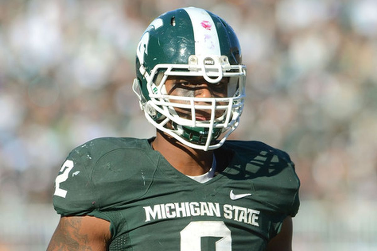 new concept 51faa bf068 William Gholston, Le'Veon Bell leaving Michigan State for ...