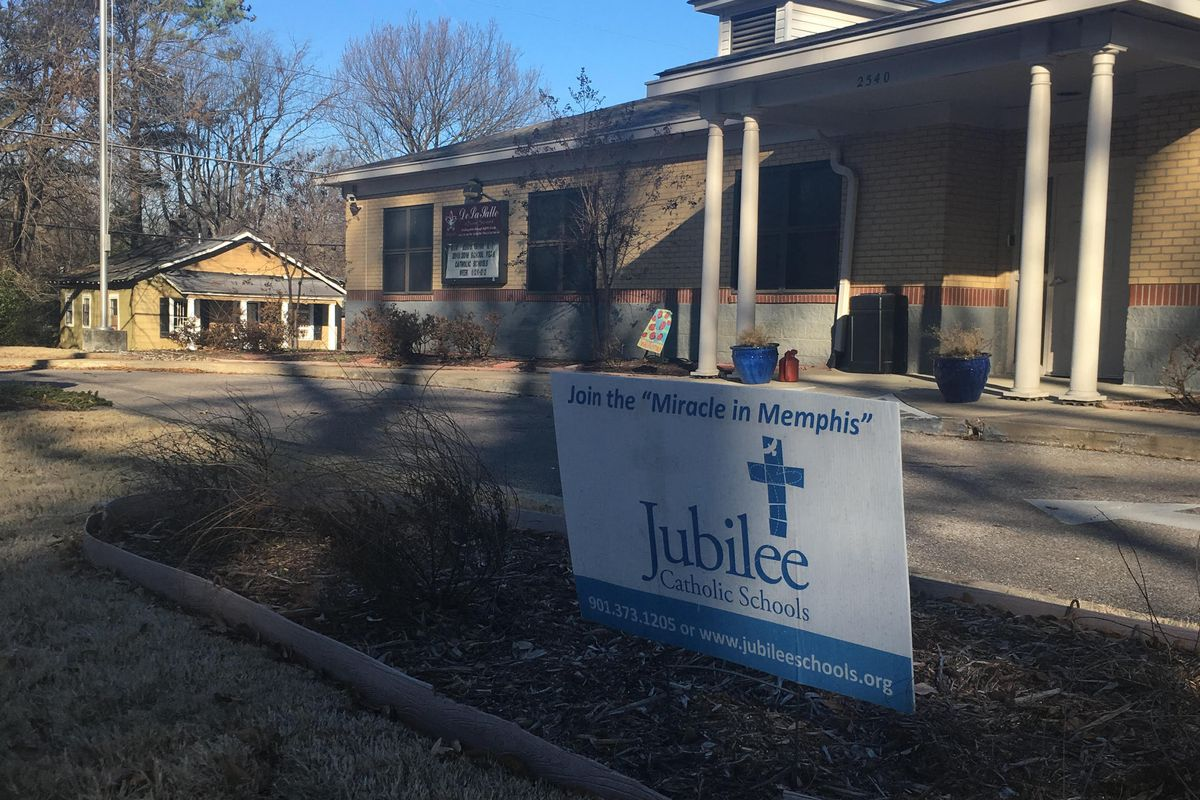 This former Catholic school in Binghampton is one of six that will open as a charter school later this month.