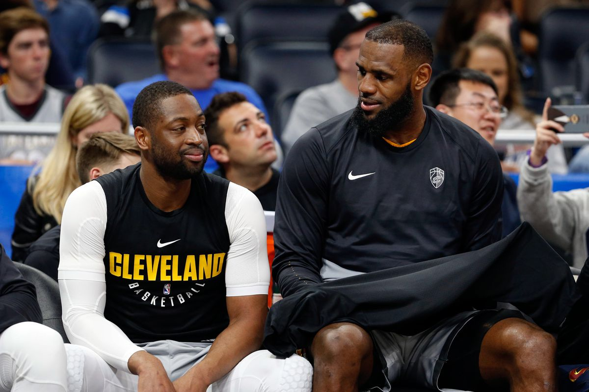 ce58245ab0ef Lakers News  Dwyane Wade thinks LeBron James is more concerned about  finding the right place for his family than building a super team in free  agency