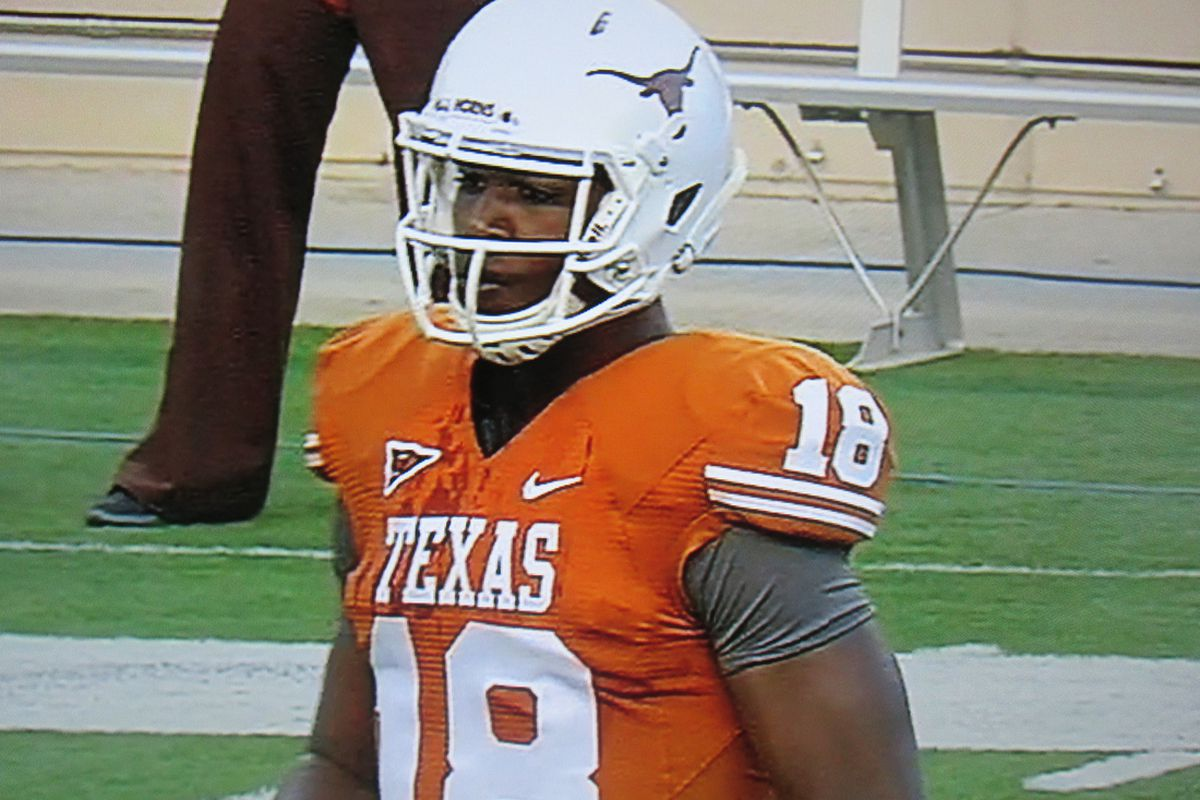 Tyrone Swoopes at the Texas spring game