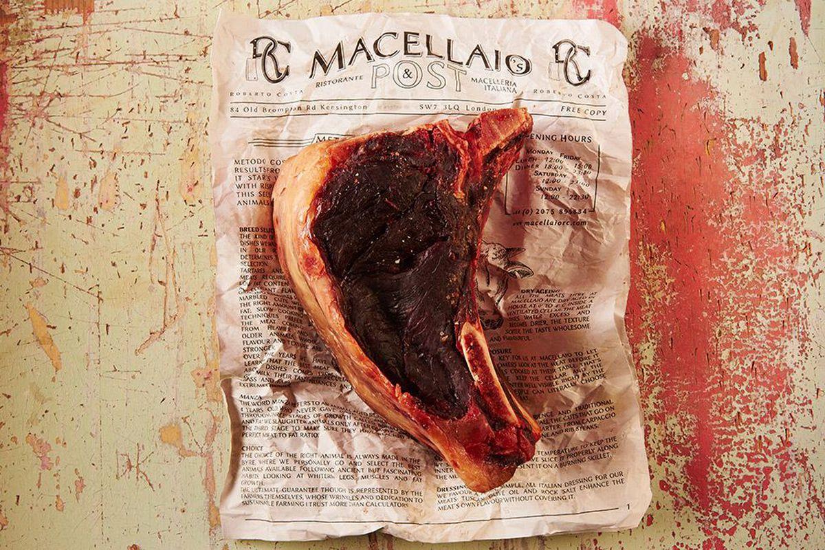 Steak at Italian restaurant Macellaio RC, opening a new restaurant in Bloomsbury, London