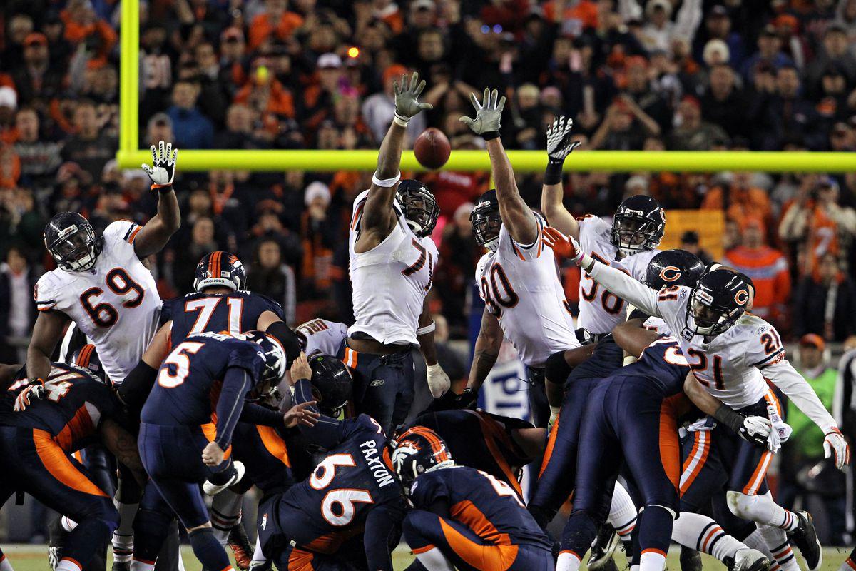 Bears at Broncos