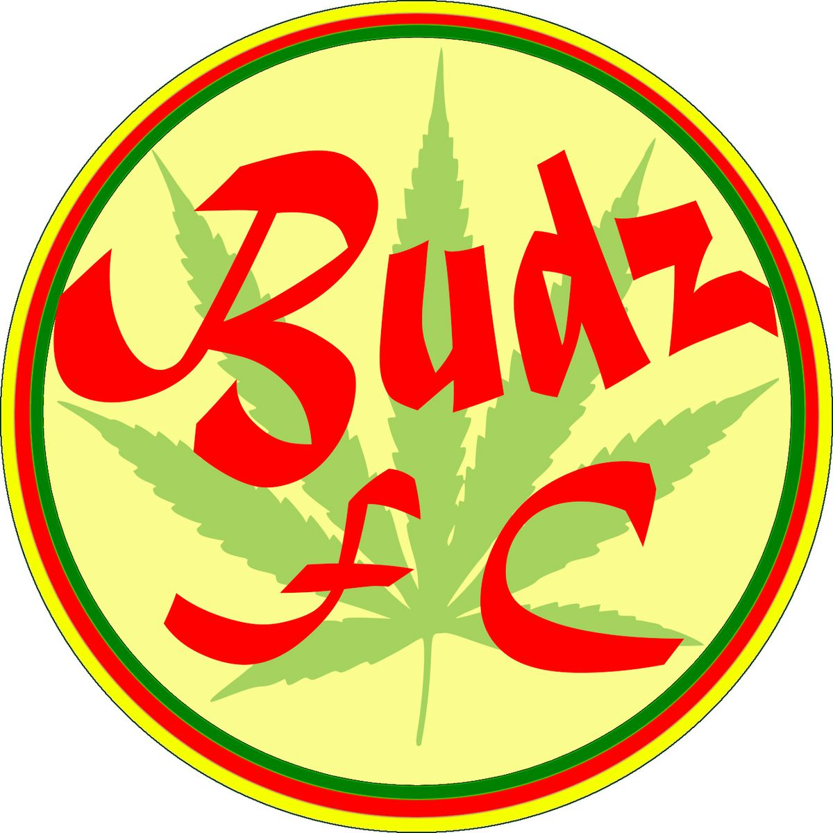 The emblem of FC Budz, from the Computer Generated Bundesliga