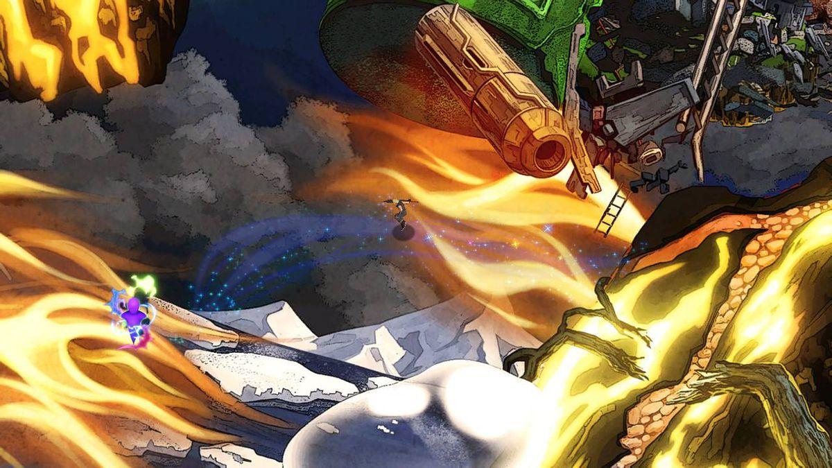 The hidden path to find Luigi in World of Light