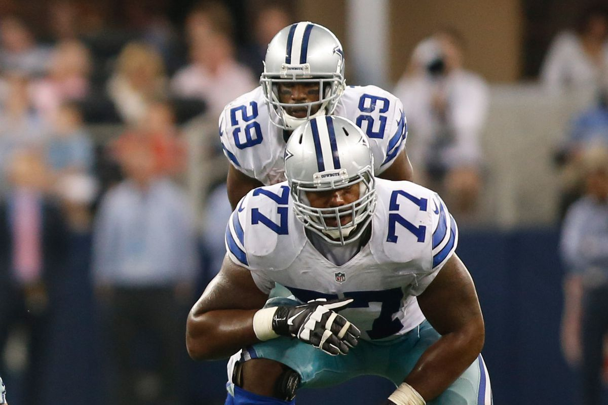 Could Tyron Smith be helping DeMarco Murray in free agency?