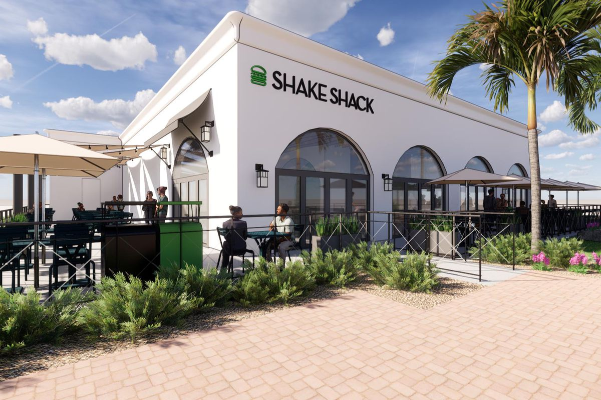 Rendering of Shake Shack at the Beacon La Costa