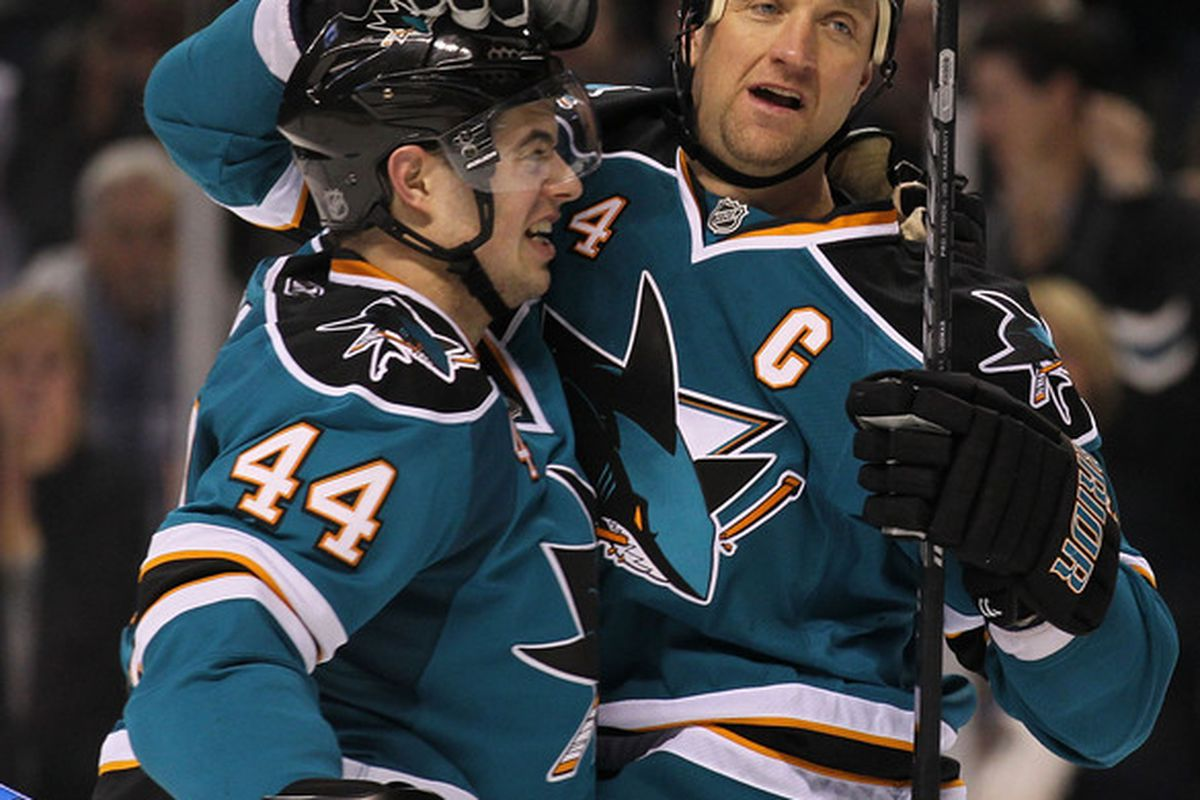 <em>Will Marc-Edouard Vlasic mesh as well with Brent Burns as he did with Rob Blake?</em>