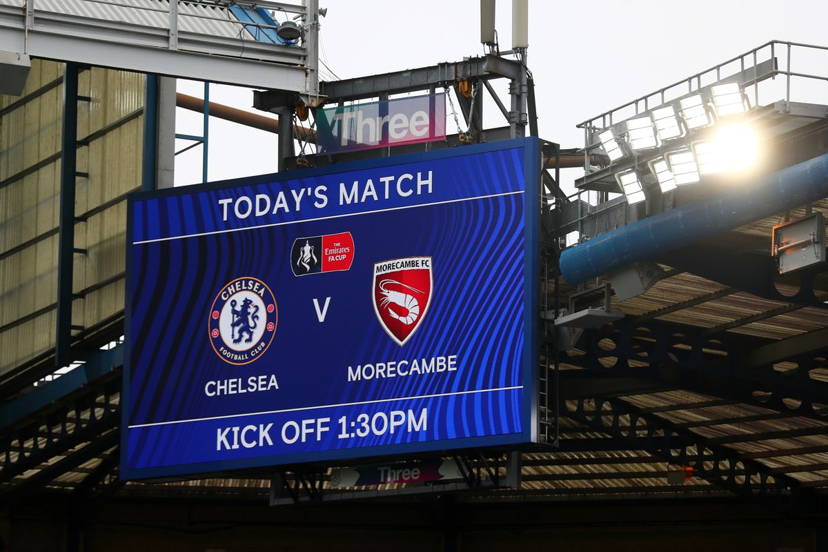 Chelsea v Morecombe: FA Cup Third Round