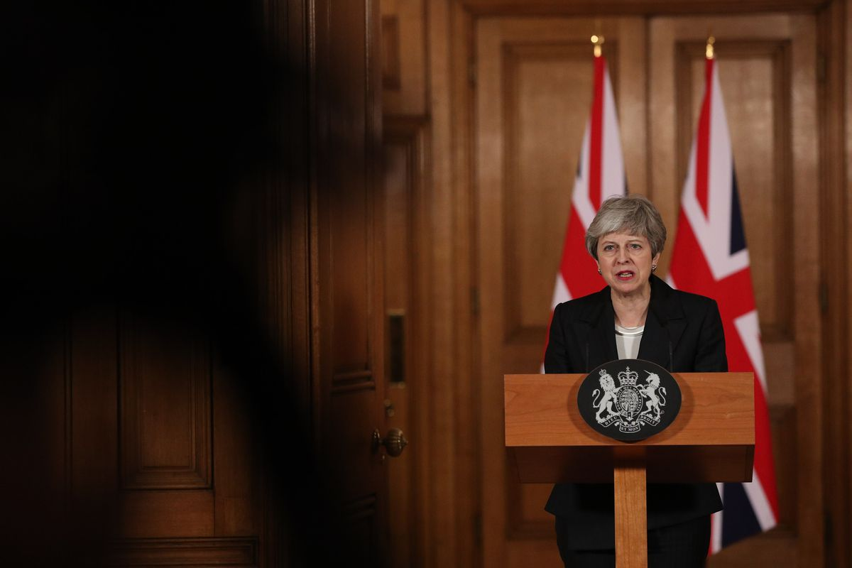 Theresa May Speaks To The Nation After Asking EU For Brexit Extension
