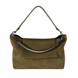 Urban Shoulder Bag in Suede, $545