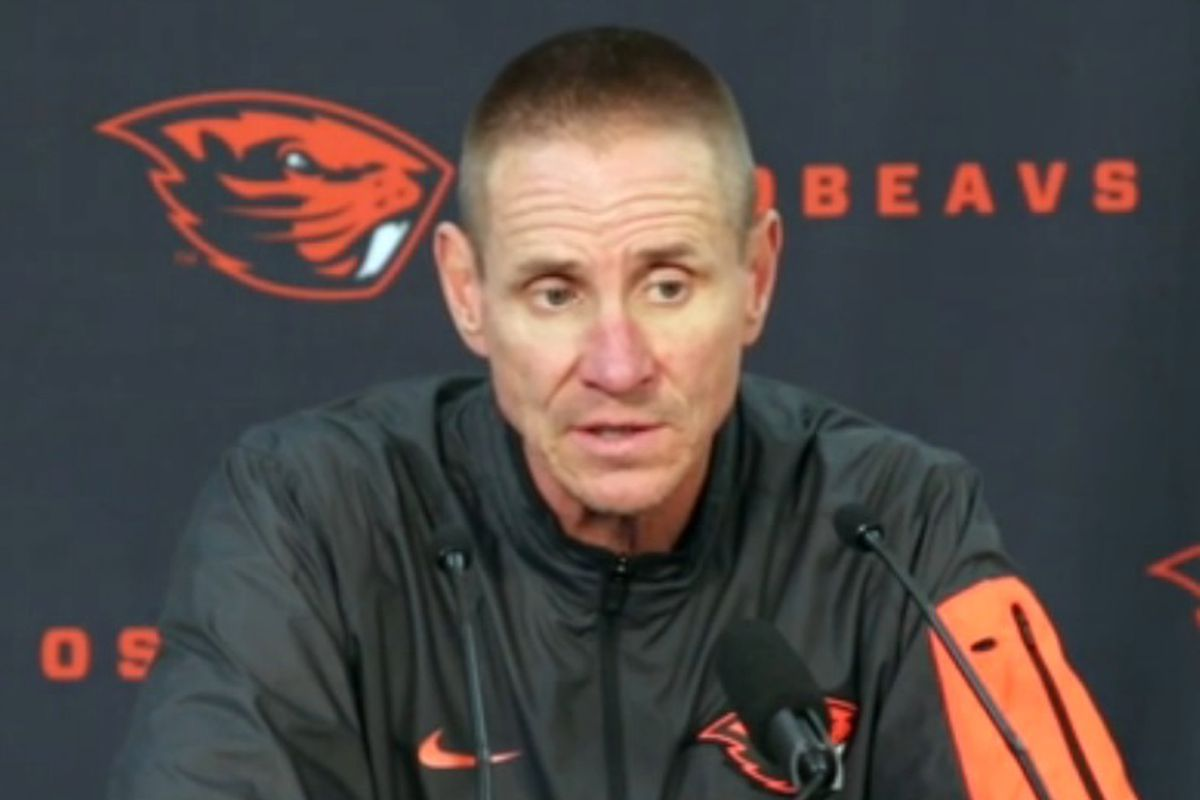 Gary Andersen at this week's press conference.