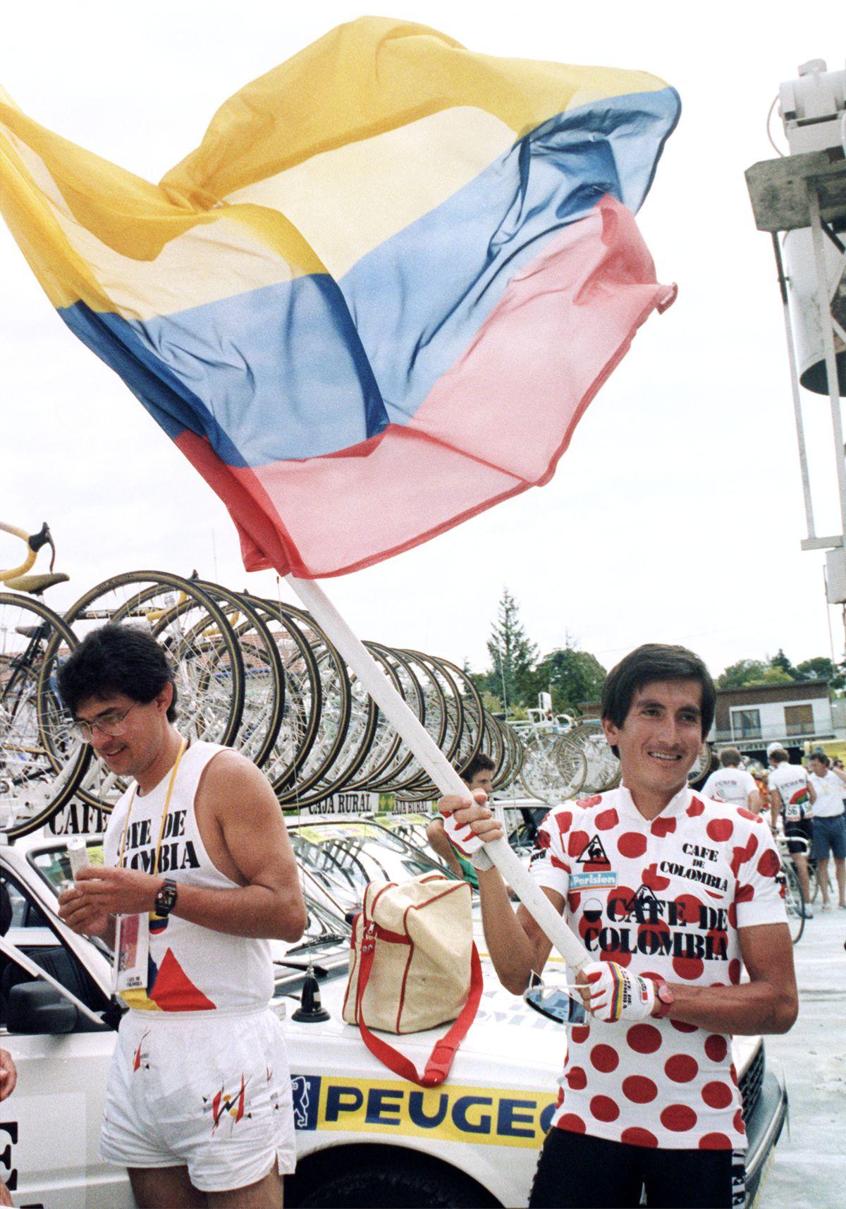 Lucho Herrera Colombia Flag