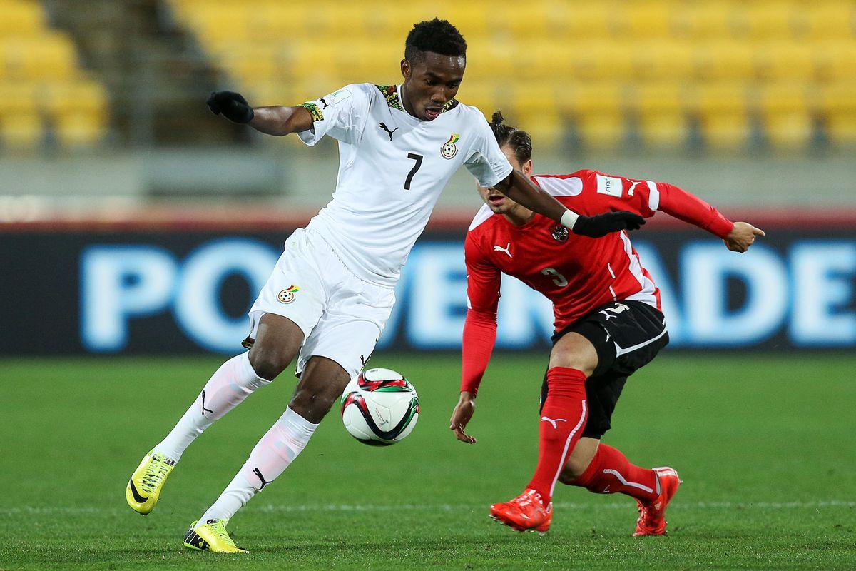 Ghana v Austria: Group B - FIFA U-20 World Cup New Zealand 2015