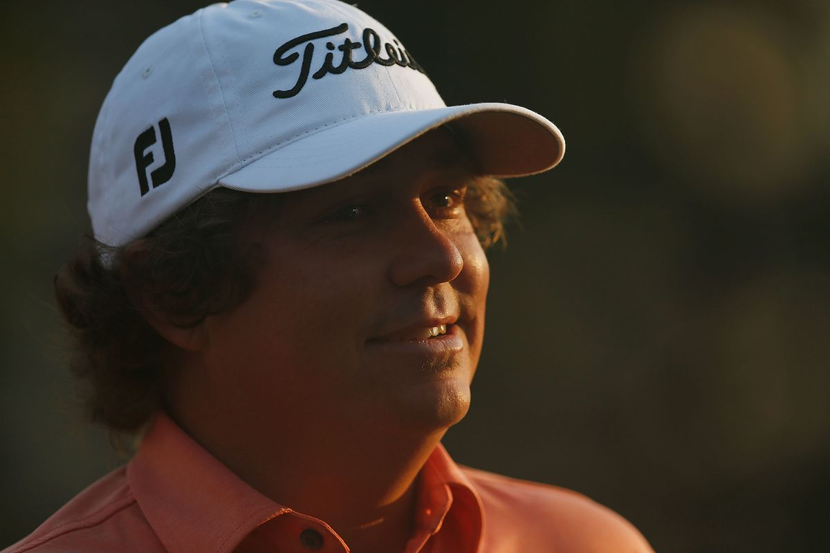 CARMEL, IN - SEPTEMBER 07:  Jason Dufner waits on the practice green during the second round of the BMW Championship at Crooked Stick Golf Club on September 7, 2012 in Carmel, Indiana.  (Photo by Scott Halleran/Getty Images)