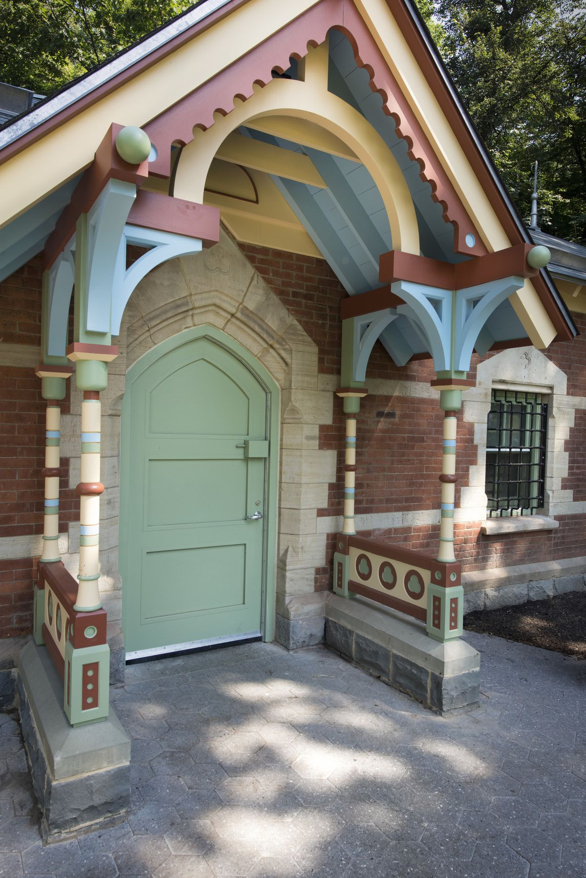 Prospect Park S 148 Year Old Wellhouse Is Transformed Into