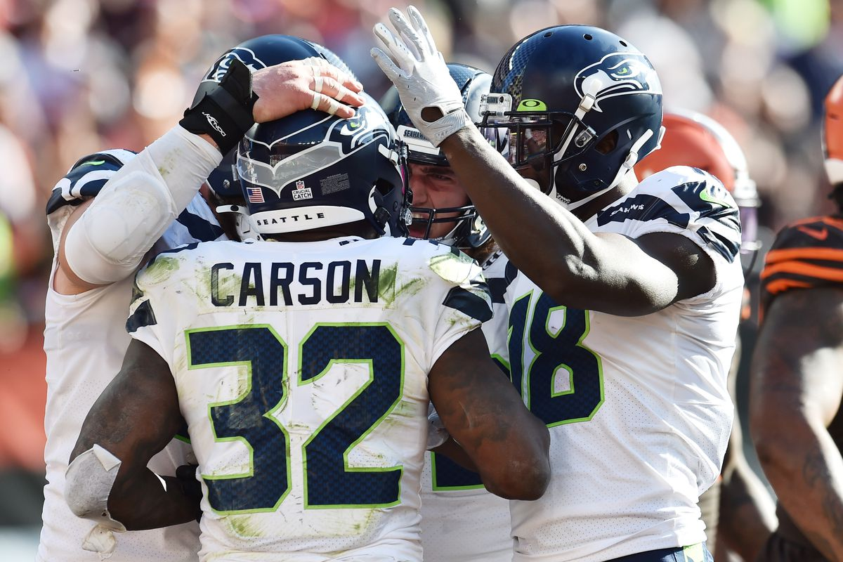A look at every carry by Seahawks RB Chris Carson against the Browns