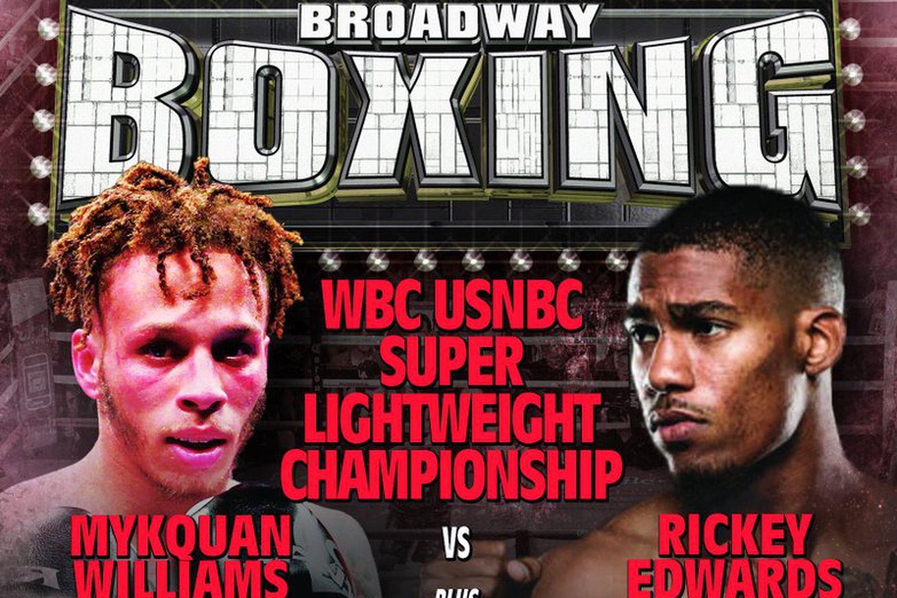 D5dBMk5X4AAm IR.0 - Broadway Boxing: Live coverage, 8:30 pm ET