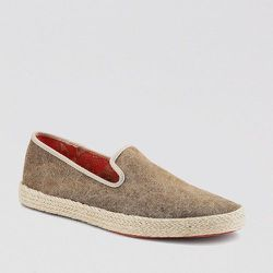 """<strong>Sperry Top-Sider</strong> Cloud Logo Drifter Stonewashed Espadrille in Brown, <a href=""""http://www.sperrytopsider.com/en/cloud-logo-drifter-stonewashed-espadrille/10501M.html?ref=espadrilles&dwvar_10501M_color=1298017#q=espadrilles&prefn1=genericSi"""