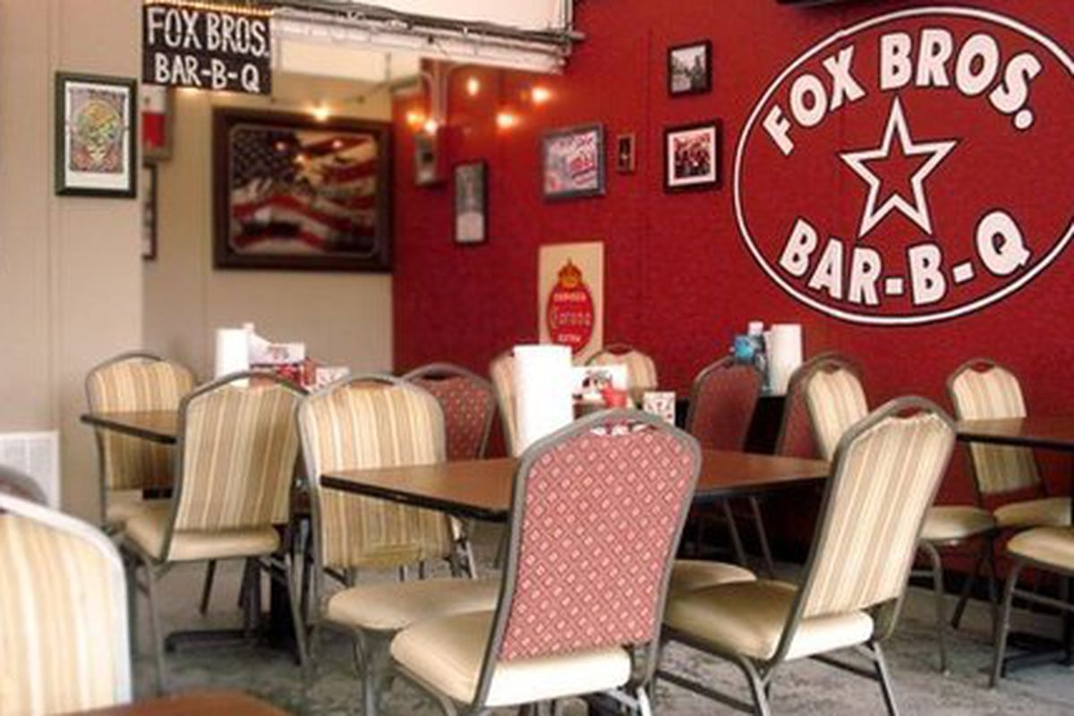 """When asked, Fox Bros. Bar-B-Q <a href=""""https://twitter.com/foxbrosbarbq/status/260387488235917312"""">said</a>, """"I wouldn't put us on that list right now! ;-) maybe come next year!"""""""