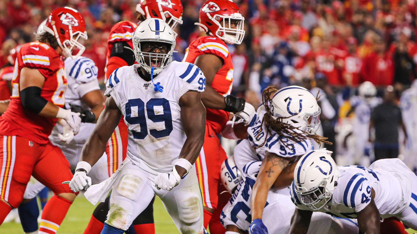Video Justin Houston Mic D Up For Big Win Over Chiefs