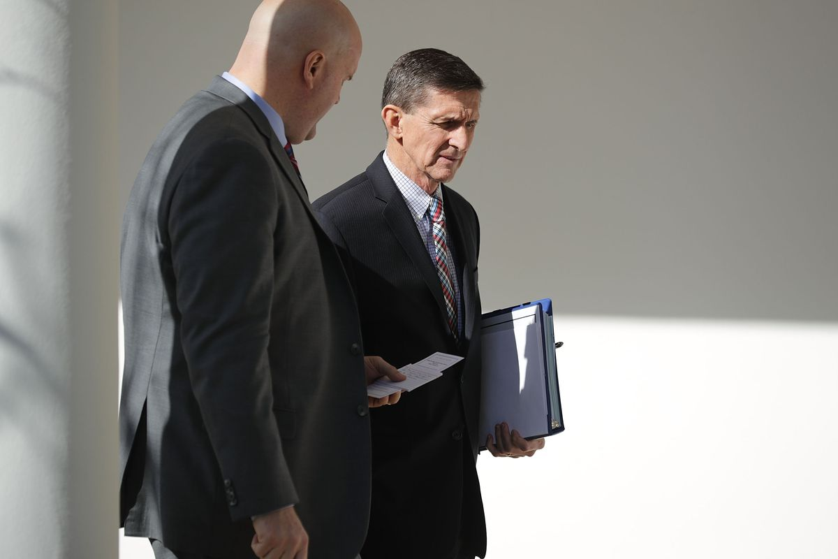 Trump's ex-national security adviser Michael Flynn charged with lying to Federal Bureau of Investigation