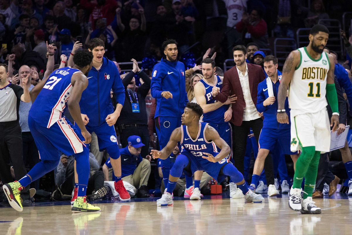 ed9d3cee2ff In parts of this current Philadelphia 76ers versus Toronto Raptors series, Jimmy  Butler was not only the offensive leader of the team, but he was asserting  ...