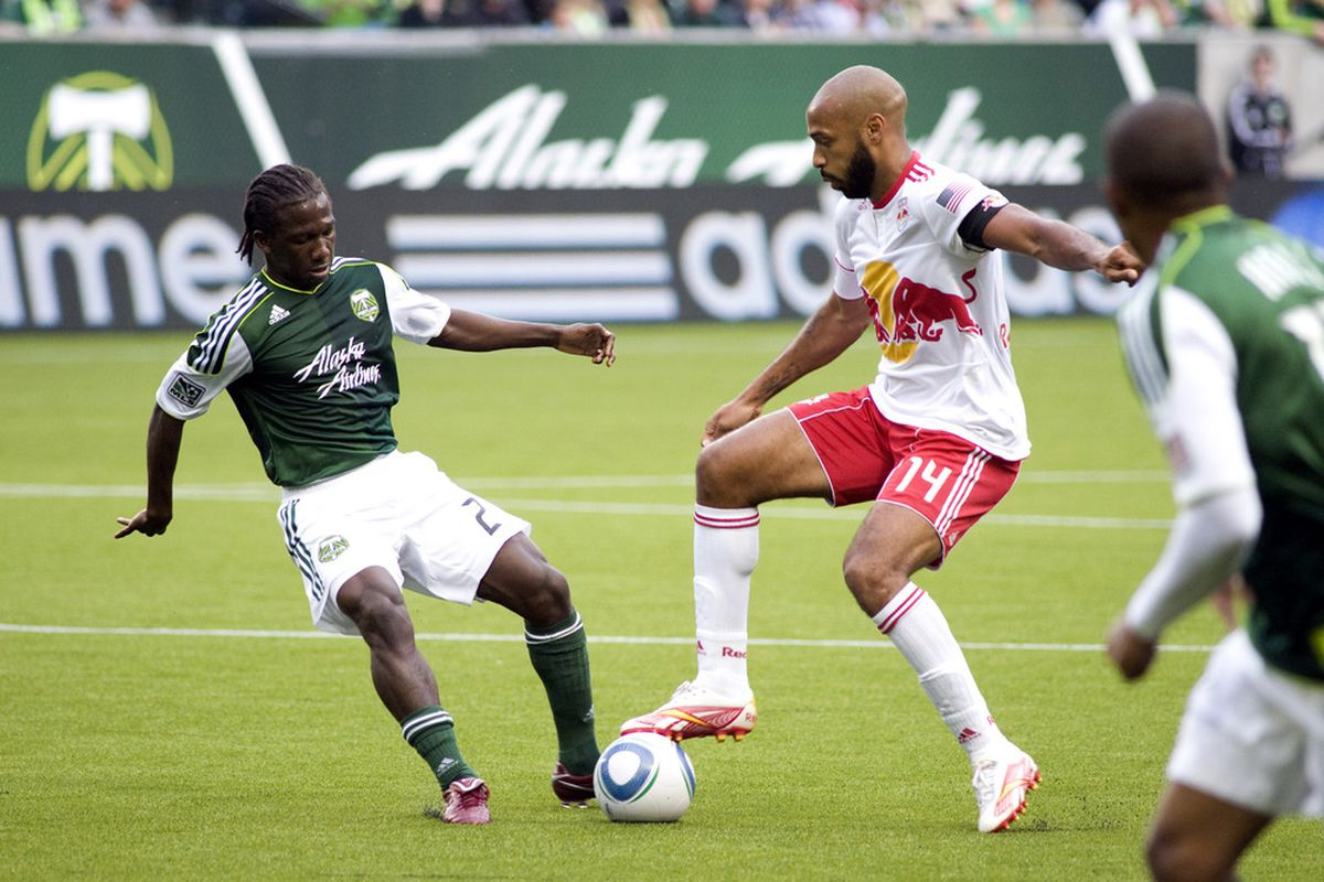 The Red Bulls only narrowly lead the Portland Timbers for the tenth playoff spot. The two meet Saturday at Red Bull Arena after mid-week matches.