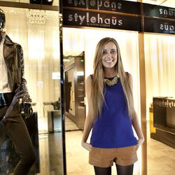 The Grove's executive style director and Stylehaus founder, Marina Monroe.