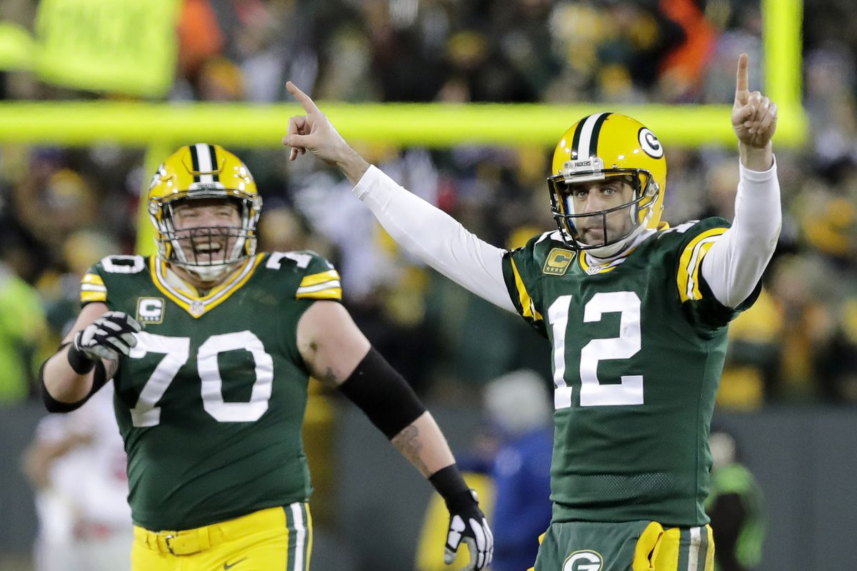 size 40 99e18 a0d4b Aaron Rodgers has thrown 3 Hail Mary touchdowns. Let's ...