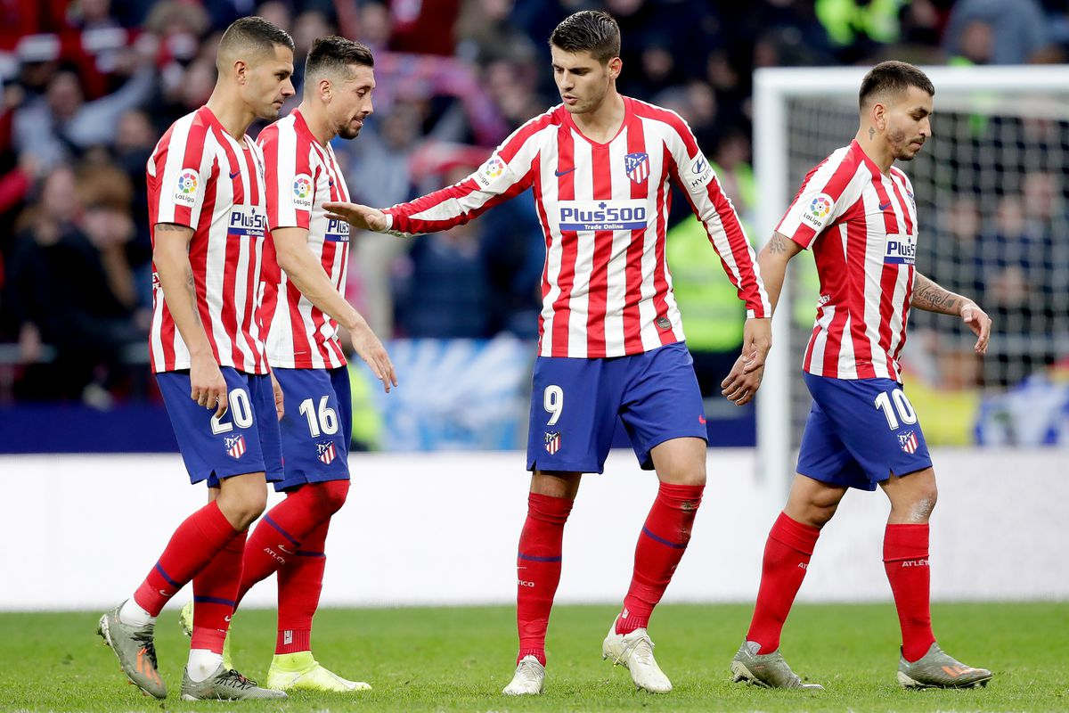 Atlético Madrid 3 1 Rcd Espanyol Player Ratings Into The Calderon