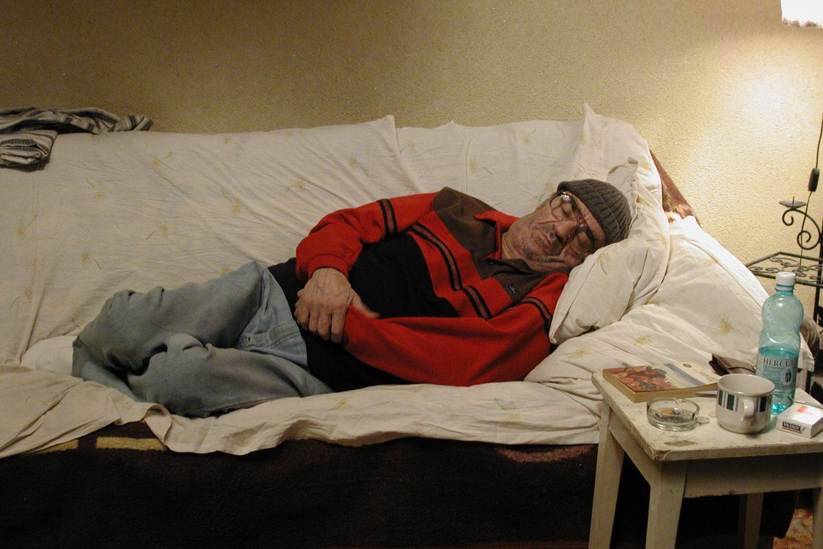 Ion Fiscuteanu in The Death of Mr. Lazarescu