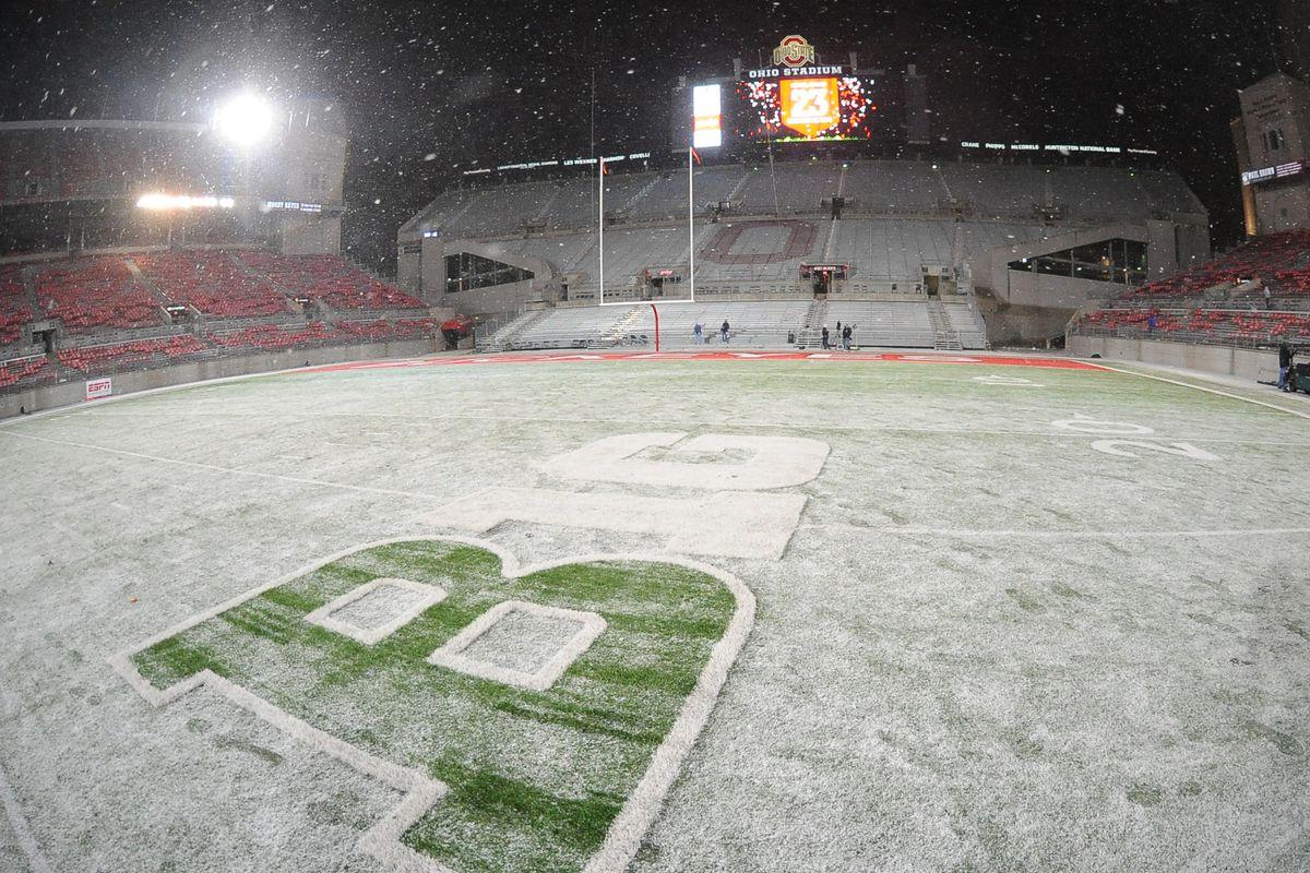 Ohio State Buckeyes v Indiana Hoosiers11-23-2013
