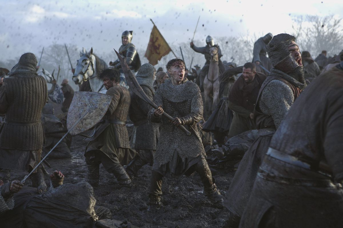 Netflix S Outlaw King Review Chris Pine Has His Game Of