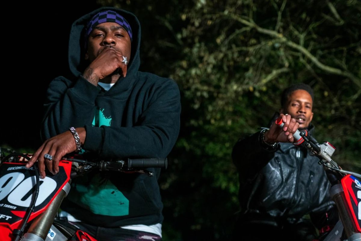 Skepta and D Double E