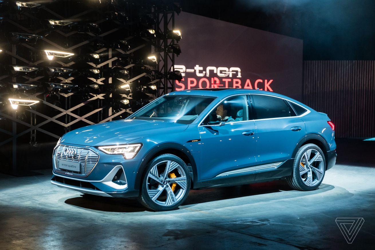 Audi reveals its second electric car, the E-Tron Sportback