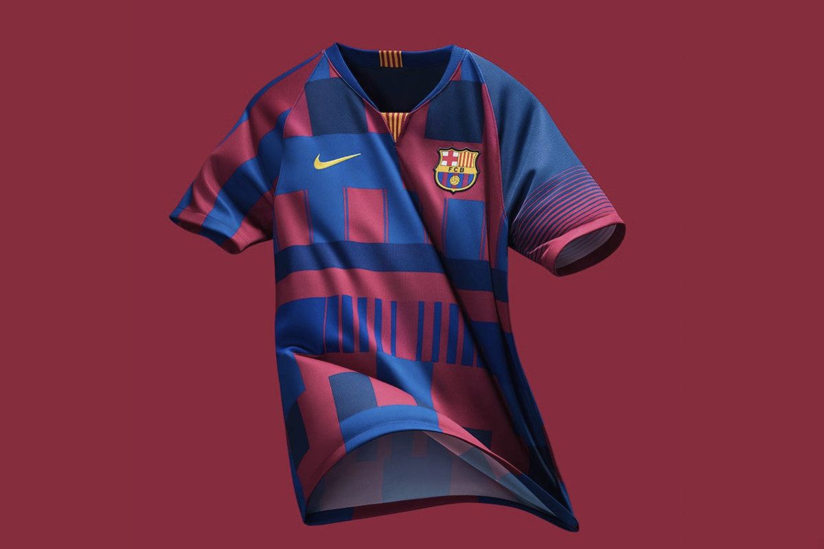 7ebb950f950 Nike and Barcelona team up for 20-year special edition jersey ...