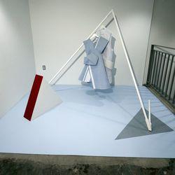 The emerging designer area, featuring Andrea Jaipei Li