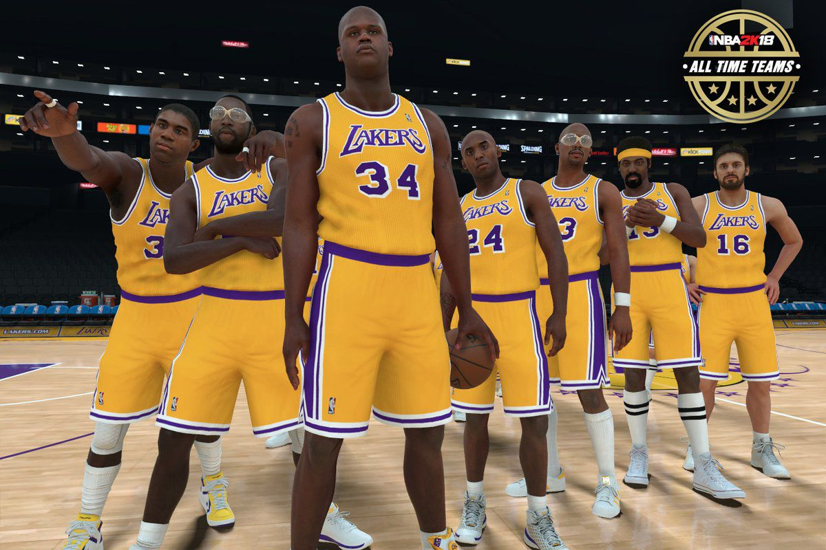 NBA 2K18 reveals the Lakers' All-Time team and it's ...