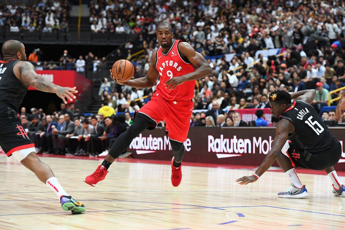 2019 NBA Japan Games: Toronto Raptors v Houston Rockets