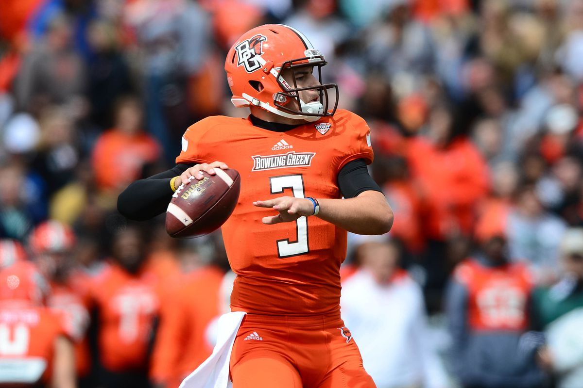 Bowling Green QB James Knapke leads Falcons to win over Indiana