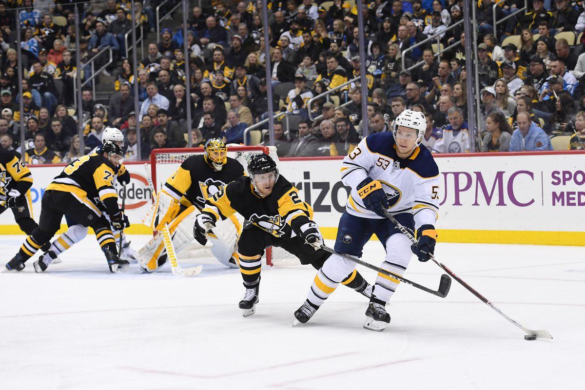 NHL: NOV 19 Sabres at Penguins